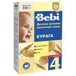 Каша молочная Bebi рисовая с 4 мес. 250 г